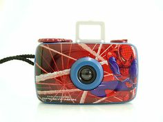 Spider-Man Spider Sense Toy 35mm Film Camera Novelty  - SOLD - Other items up for sale here! http://www.ebay.com/sch/pealfaro/m.html?_nkw=&_armrs=1&_from=&_ipg=&_trksid=p3686