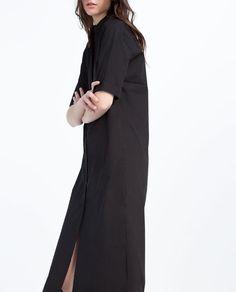 EXTRA-LONG SHIRT DRESS