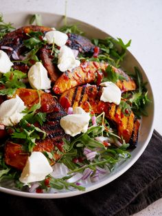 The Grilled Pumpkin salad dish from Hunter and Barrel is a delicious stand out on their sides menu. Try this and then head over to the restaurant!