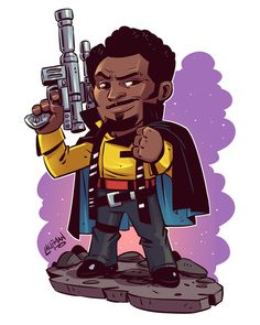 A couple of new StarWars chibis added to the mix today. Today Only save 20%OFF your orders at www.dereklaufman.com (link in my profile) when you enter promo code MAY4TH at checkout. #maythe4thbewithyou #solo #lando #scouttrooper #starwars #dereklaufman