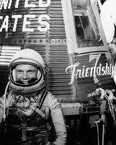 Mercury Friendship 7 Astronaut John Glenn Photo Print