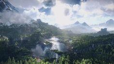 Witcher 3: Wild Hunt (Beauty Landscapes Fantasy)