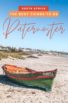 This guide covers the best things to do in Paternoster, and tips to help you fully enjoy your first visit to South Africa's most iconic fishing village. Africa Destinations, Travel Destinations, Holiday Destinations, Travel Photographie, Stuff To Do, Things To Do, Kayak Tours, Travel Guides, Travel Tips