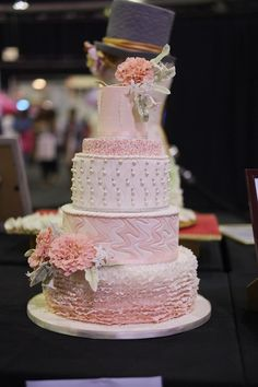 The Wedding Expo Cake Challenge March 2017 with Huletts SA entrant to the professional category Tascha's Cakes. Photography by Nic Huisman Photography. Wedding Cake Display, Wedding Cake Rustic, Wedding Cakes, Budget Wedding, Wedding Venues, Wedding Planning, Wedding Day, Cake Competition, 1st Birthday Cake Topper