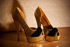 sparkling gold black velvet