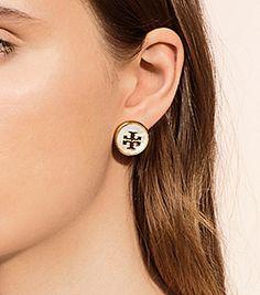 Tory Burch Semiprecious Stud Earring