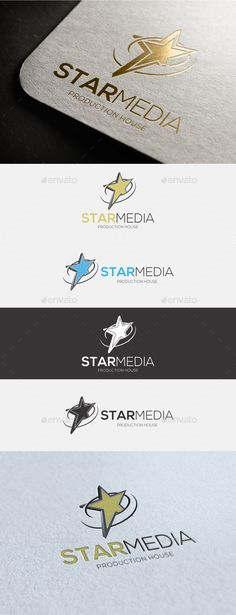 EPS Star Logo  Template • Only available here ➝ http://graphicriver.net/item/star-logo/16498614?ref=pxcr