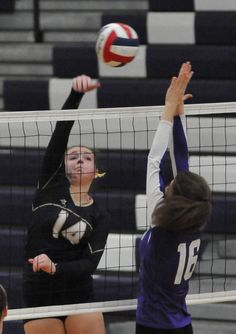 NORTON - The Foxboro High volleyball team held off a stern challenge by the Norton High Lancers to prevail 3-1 in a non-league match Wednesday, winning 25-13, 18-25, 25-15, 25-20.