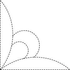 Afbeeldingsresultaat voor quilting motifs free patterns