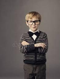 Bilderesultat for portrait kid smart