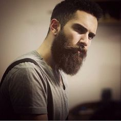 The most important first step to fashionably trimmed beard is patience. Check out our products especially made for beards here @ www.muleties.com. (Image from Beardoholic)  #beards #fashionablebeards #muleties #midnightandtwo #beardoholic