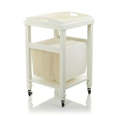 Anna Griffin® Craft Room Rolling Paper File Cart