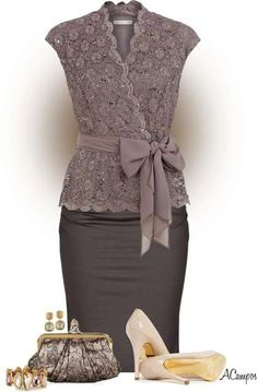 """womens_fashion- Embedded image permalink """"All the necessary business office outfit ideas you're seeking. What you should Wear to Work Outfit, If Fashionista Trends, Mode Outfits, Fashion Outfits, Womens Fashion, Skirt Outfits, Fashion Styles, Fashion Ideas, Dress Skirt, Party Outfits"""