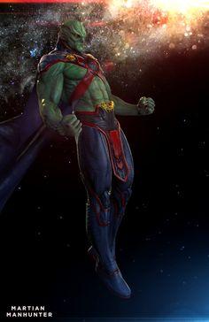 What if Braniac and Martian Manhunter looked like THIS in Dawn of Justice? What if Braniac and Martian Manhunter looked like THIS in Dawn of Justice? Dc Comics Superheroes, Dc Comics Characters, Dc Comics Art, Marvel Vs, Marvel Dc Comics, Comics Anime, Superman Art, Martian Manhunter, Dc Movies