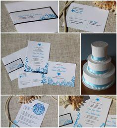 Aquarium Wedding Invitations