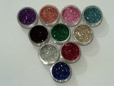 10 grams  2 x 5 gram pots of glitter colour by Dazzleglittertattoo, £4.45