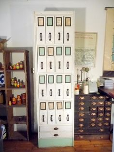 Could incorporate this concept into the nave built-ins. Shop Shelving, Shelving Systems, Storage Shelves, Locker Storage, Storage Units, Cubbies, Shelf, Flat Files, Apothecary Cabinet