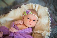Newborn girl photography awake © Destiny Frye Photography www.destinyfryephotography.com