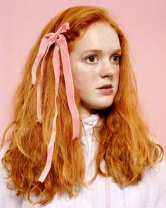 Gorgeous copper Red Hair Velvet Ribbon Katie Glover by Isla Cunningham