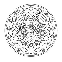 Get coloring with pug coloring pages as well as bulldog coloring pages.click this pin for more. Dog Coloring Page, Coloring Book Pages, Coloring Pages For Kids, Animal Coloring Pages, Coloring Sheets, Free Coloring, Images Of Pugs, Creative Tattoos, Planer