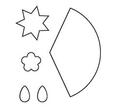 Molde Morango de Tecido - Como Fazer Passo a Passo
