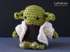 Yoda Star Wars Amigurumi por Lanukas