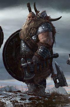 Mercenaire Nain