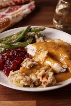 You can't beat the classics, and we have everything you need for a perfect traditional Thanksgiving feast. From delicious side dishes and appetizers to main meals and desserts, these Thanksgiving dinner ideas will impress everyone at the table. Thanksgiving Gravy, Thanksgiving Side Dishes, Thanksgiving Recipes, Holiday Recipes, Perfect Gravy Recipe, Easy Gravy Recipe, Turkey Recipes, Chicken Recipes, Turkey Gravy