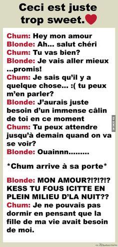 Un chum comme CECI est le rêve de TOUTES les filles – Québec Meme +