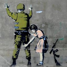 design street art Banksy