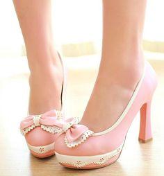 $31.50   Fashion Beautiful Bowknot high heels 2641FC