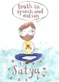 brogamelbourne: Yama 2 - Satya