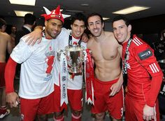 inside the Liverpool dressing room after our Carling Cup glory at Wembley.
