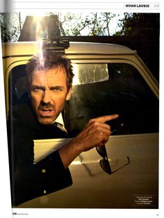 Hugh Laurie Less commonly known as....James Hugh Calum Laurie <3