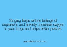 Singing helps