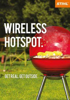 Stihl: Wireless Hotspot