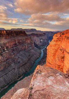 Sunrise at Toroweap, North Rim of Grand Canyon, Arizona