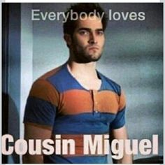 Teen Wolf ~ Everybody Loves Cousin Miguel dont watch it anymore but this was funny,