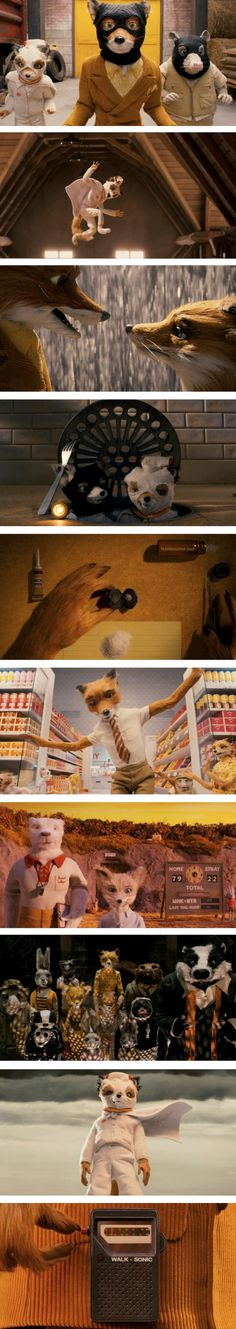 Fantastic Mr. Fox. Weirdest. Movie. Ever. And I love it!