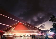 The Three Cultural Centers & One Book Mall complex in Shenzhen by Mecanoo Architecten