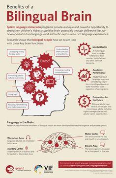 Aprendiendo Español: Los beneficios que tiene para nuestra mente el ser bilingüe