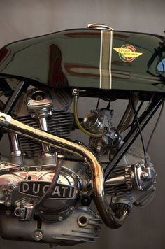 A beautiful Ducati