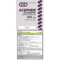 Acephen Acetaminophen Suppositories 325Mg 12 Ea Thank you to all the patrons We hope that he has gained the trust from you again the next time the service * See this great product.