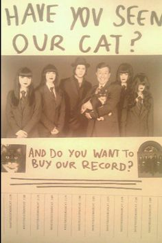 "Black Belles, Jack White, Stephan Colbert  ""Have you seen our cat?"""