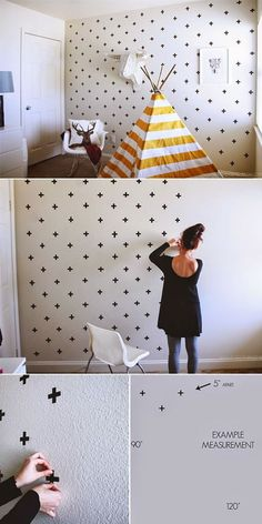 DIY Wall Painting Ideas >> click for more>> #diy #wall #painting #walldecor