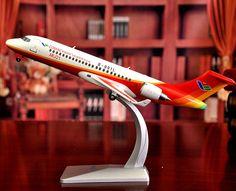 1-200 arj-21  aircraft alloy airliner model #Handmade