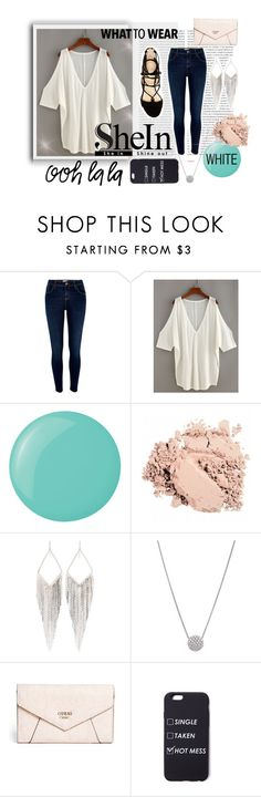 """""""Untitled #84"""" by all-is-one on Polyvore featuring Oris, River Island, Marc Fisher, Essie, Jules Smith and GUESS"""