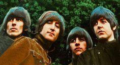 George Harrison, John Lennon, Richard Starkey, and Paul McCartney Beatles Album Covers, Beatles Albums, Liverpool, Ringo Starr, George Harrison, Paul Mccartney, Beatles Rubber Soul, Rubber Soul Album, Madonna