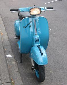 Vespa Farben RAL 5018 wasserblau