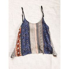 Perfect Boho Patterned Crop Top Perfect Boho Patterned Crop Top. Brand is Fun & Flirt. 100% Rayon, smooth and silk feel that falls perfectly in all areas. I usually wear a small  and it fit well. Fun & Flirt Tops Crop Tops